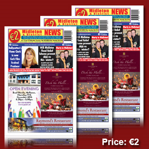 Midleton News November 16th 2016 | eBooks | Magazines