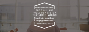 the email & follow up system that just works!