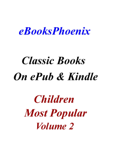 eBooksPhoenix Classic Books Children Vol.2 | eBooks | Children's eBooks