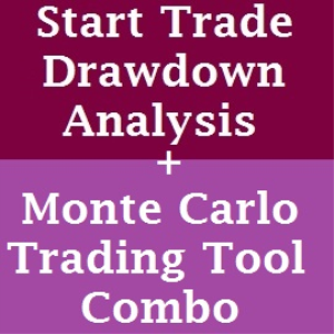 trading tool combo: monte carlo and start trade drawdown analysis trading tools