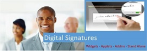 Digital Signature Widget | Software | Add-Ons and Plug-ins