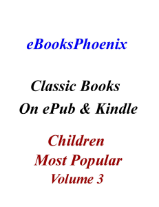 eBooksPhoenix Classic Books Children Vol. 3 | eBooks | Children's eBooks