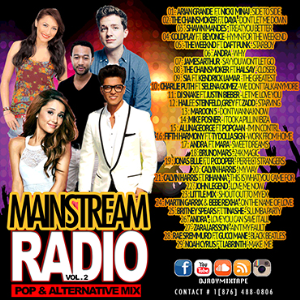 Dj Roy Mainstream Radio Pop & Alternation Mix Vol.2 | Music | Alternative