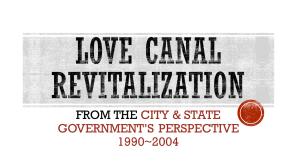 love canal revitalization