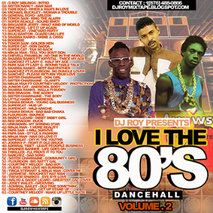 dj roy i love the 80's dancehall mix vol.2