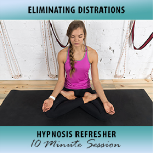 Eliminating Distractions Hypnosis Refresher | Audio Books | Self-help