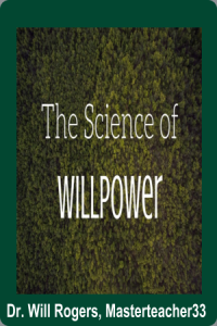 the science of will power