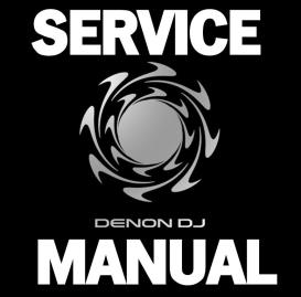 denon dn-mc6000 mixer controller service manual