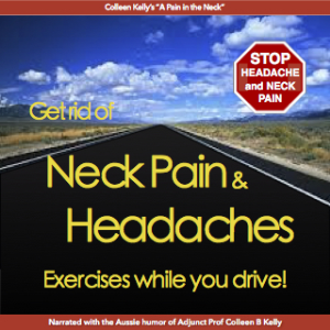 get rid of headaches and neck pain: exercises while driving by colleen kelly