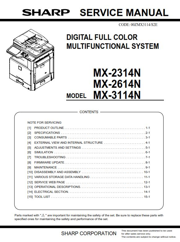Philips mx 800 Service Manual