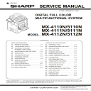 Sharp MX 4111N 5111N Full Service Manual Download | eBooks | Technical