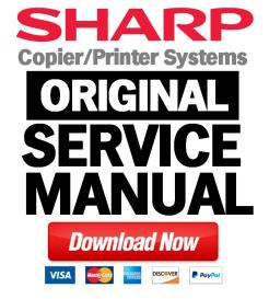 sharp mx m850 m950 m1100 full service manual download