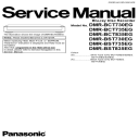 Panasonic DMR BCT730 BST730EG Blu Ray recorder original Service Manual | eBooks | Technical
