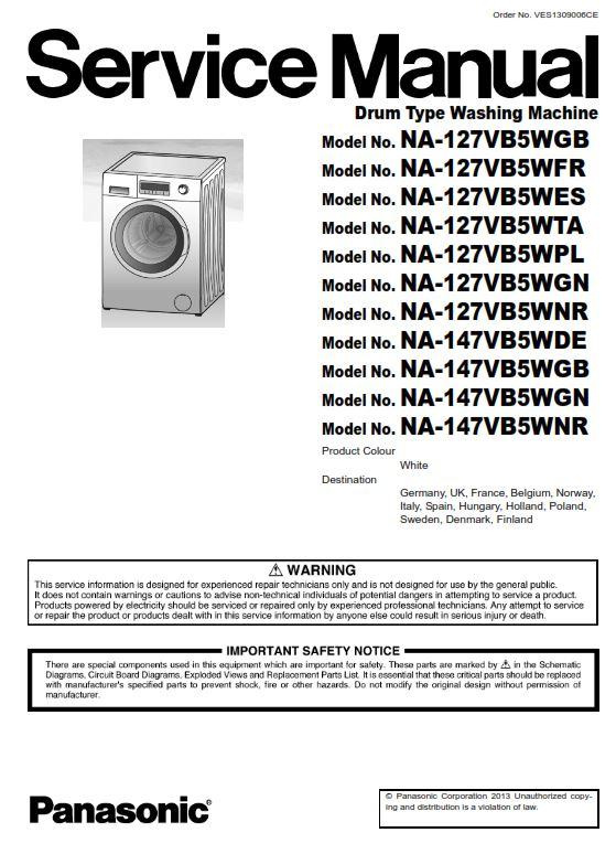 Washing Machine Manual Schematic Diagram on