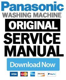 panasonic na 148vb6 148vb6wde 148vb6wgb washing machine service manual