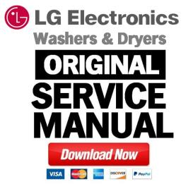 lg dle0442w dlg0452w dryer service manual and repair guide