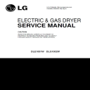LG DLE1001W DLG1002W service manual dryer service manual and repair guide | eBooks | Technical