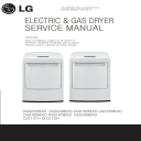 LG DLE1101W DLG1102W dryer service manual and repair guide | eBooks | Technical