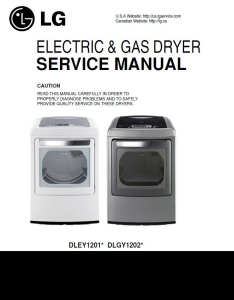 LG DLEY1201V DLGY1202V DLGY1202W service manual and repair guide | eBooks | Technical