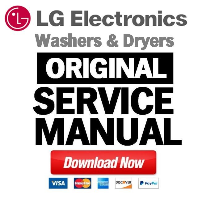 LG RC9011B dryer service manual and repair guide