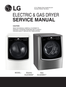 lg dlex9000w dlex9000v dryer service manual and repair guide rh store payloadz com lg dryer dle2516w service manual lg tromm dryer service manual