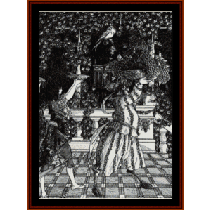 the fruit bearers - beardsley cross stitch pattern by cross stitch collectibles
