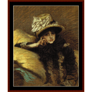 Berthe - Tissot cross stitch pattern by Cross Stitch Collectibles | Crafting | Cross-Stitch | Other
