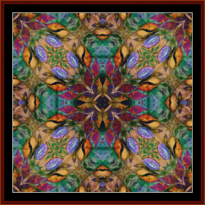Fractal 593 cross stitch pattern by Cross Stitch Collectibles | Crafting | Cross-Stitch | Wall Hangings