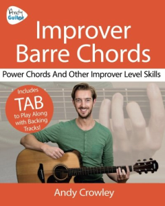 improver barre chords - ebook companion download