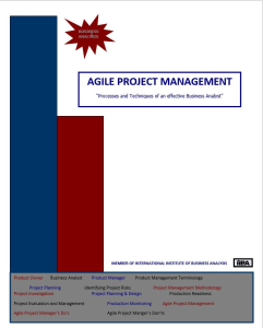 agile project management - qrg