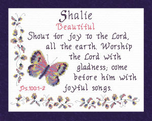 Name Blessings - Shalie | Crafting | Cross-Stitch | Other
