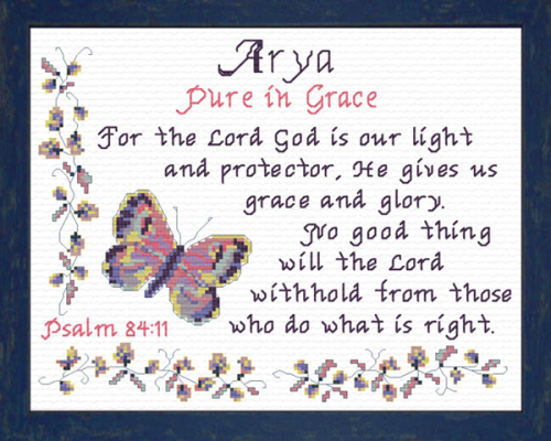 First Additional product image for - Name Blessings - Arya