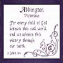 Name Blessings - Abbington | Crafting | Cross-Stitch | Religious