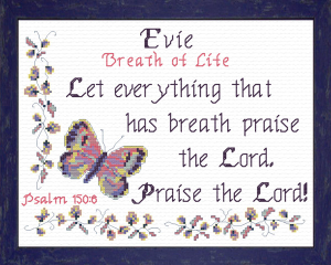 Name Blessings - Evie | Crafting | Cross-Stitch | Other