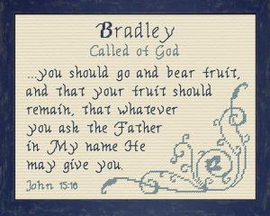 name blessings - bradley 2