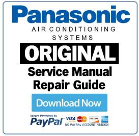 Panasonic CS-E9SD3UAW CU-E9SD3UA AC System Service Manual | eBooks | Technical
