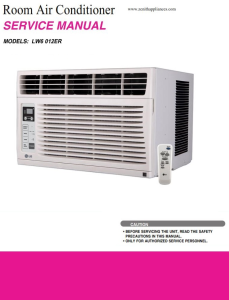 LG LW6012ER Air Conditioning System Service Manual | eBooks | Technical