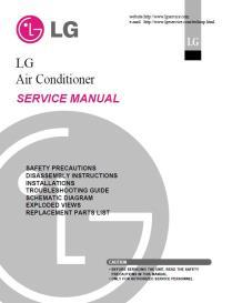 lg amnc126lrl0 air conditioning system service manual