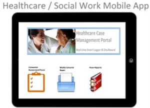 healthcare case mgt portal - web application