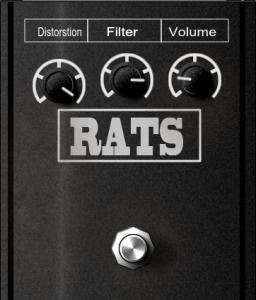 rat guitar pedal vst plugin