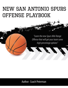 new san antonio spurs mid-range offense playbook