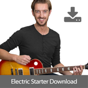 andy's electric guitar starter course [videos, backing tracks + tab]