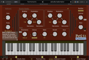 Peti SA Harmonium/Accordion | Software | Audio and Video