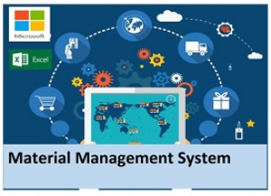 material management system - ms excel plugin