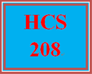 HCS 208 Week 1 Vocabulary Exercise – Basic Health Care Terms | eBooks | Education
