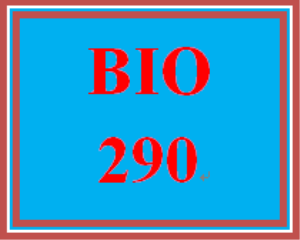 BIO 290 Week 7 WileyPLUS Worksheet | eBooks | Education