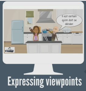 Mon point de vue Set of 4 Animated Sketch Videos | Movies and Videos | Educational