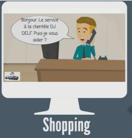 faisons du shopping sketch video (modifiable version)
