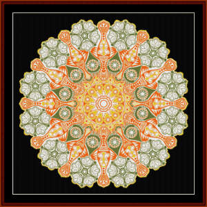 Fractal 599 cross stitch pattern by Cross Stitch Collectibles | Crafting | Cross-Stitch | Wall Hangings