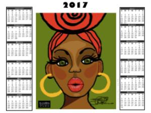 2017 calendar - - lucy